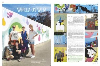 Kauniainen, Multicoloured Dreams, 2012