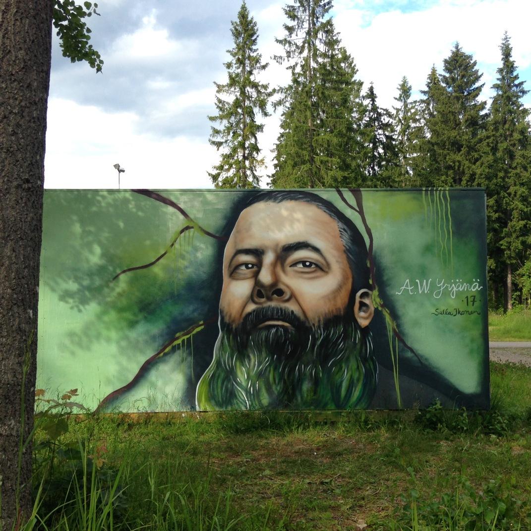 Salla Ikonen A.W.Yrjänä